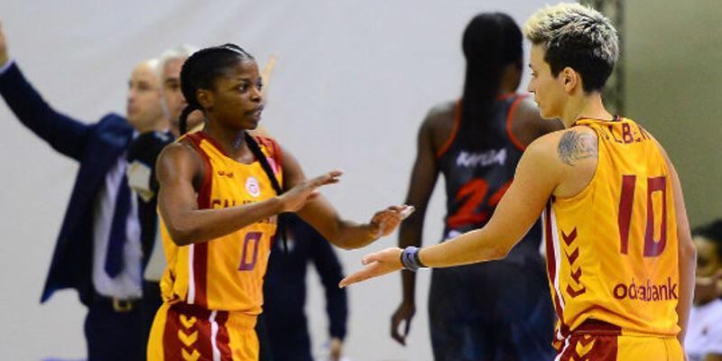 Galatasaray Kadın Basketbol Takımı 4. galibiyetini aldı