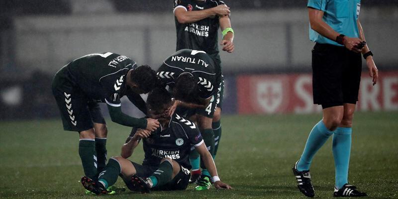 Vitoria Guimaraes 1-1 Konyaspor / Maç Özeti