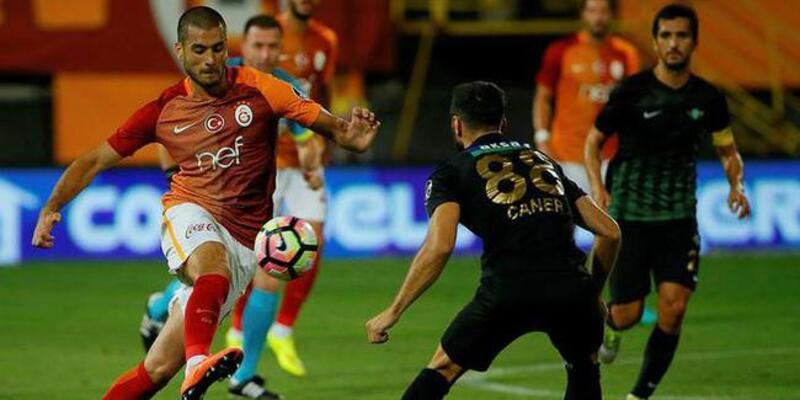 Galatasaray'ın Akhisar'a karşı ezici üstünlüğü