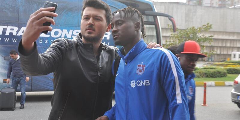Trabzonspor İstanbul'a 4 eksikle geldi