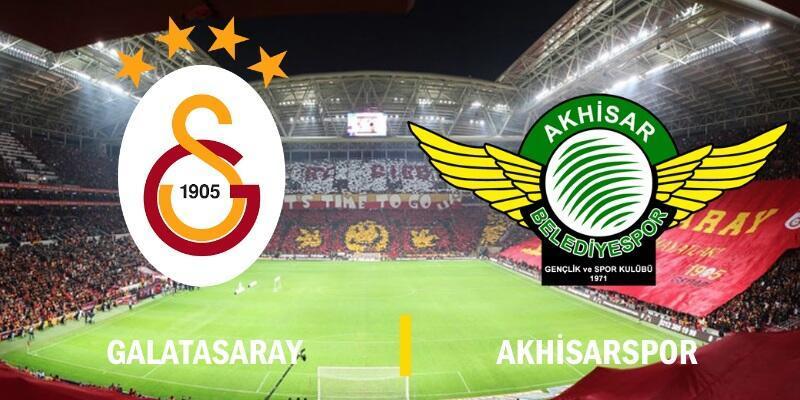 Galatasaray-Akhisarspor maçı ne zaman, saat kaçta, hangi kanalda?