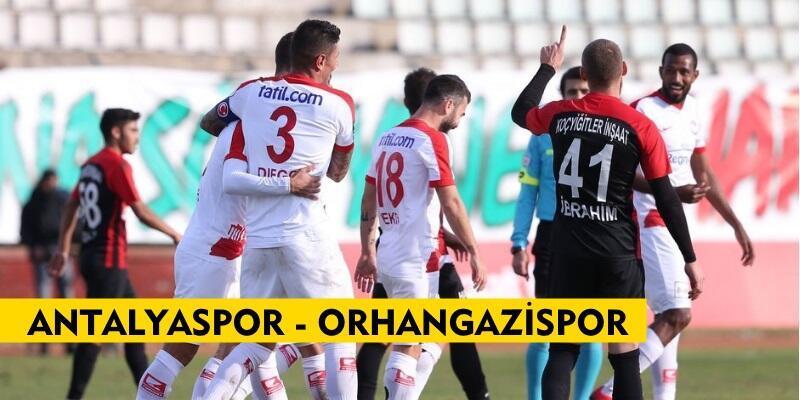 Antalyaspor-Orhangazispor maçı izle   Türkiye Kupası canlı yayın