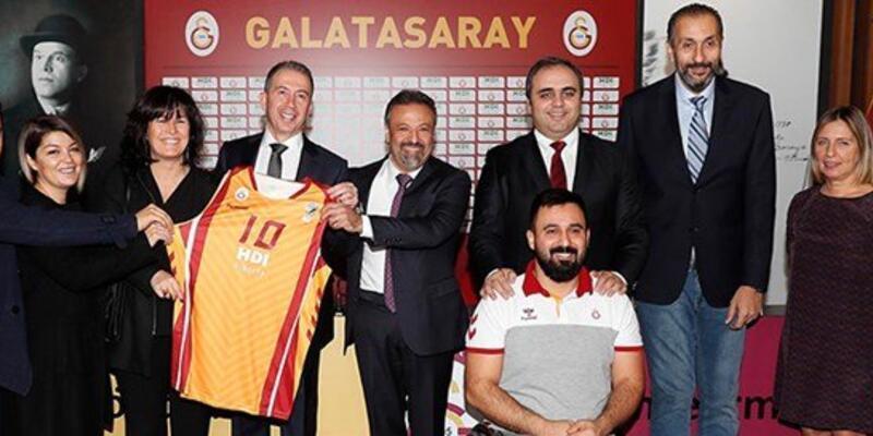 Galatasaray Tekerlekli Basketbol takımına isim sponsoru