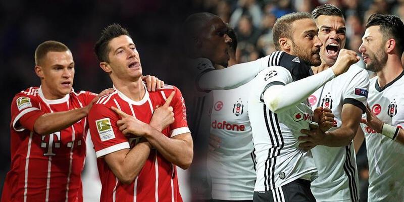 Bayern Münih-Beşiktaş maçının oranları açıklandı