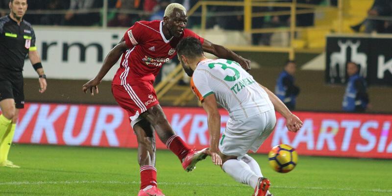 Aytemiz Alanyaspor - Demir Grup Sivasspor: 1-1 / Maç sonucu