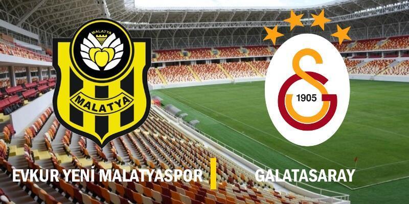 Canlı: Yeni Malatyaspor-Galatasaray maçı izle | 16. hafta