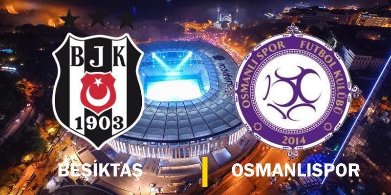 16. hafta: Beşiktaş-Osmanlıspor maçı izle   Canlı yayın
