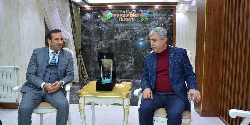 Malatyaspor Başkanından, Yeşilyurt'a ziyaret