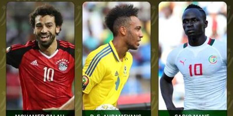Afrika'da yılın futbolcusu adayları açıklandı