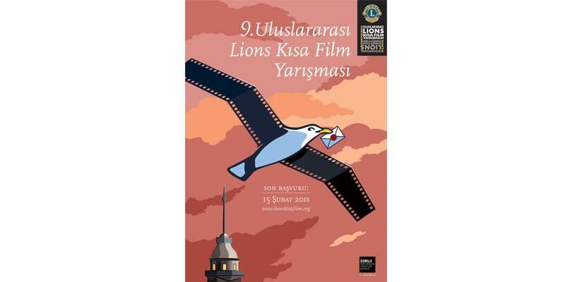 Uluslararası Lions Kısa Film Yarışması için geri sayım başladı