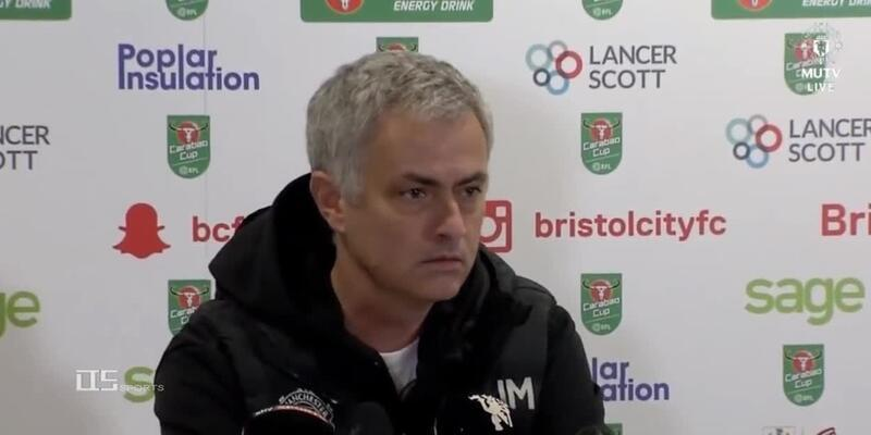 Mourinho'ya 1 dakika 41 saniye şoku!