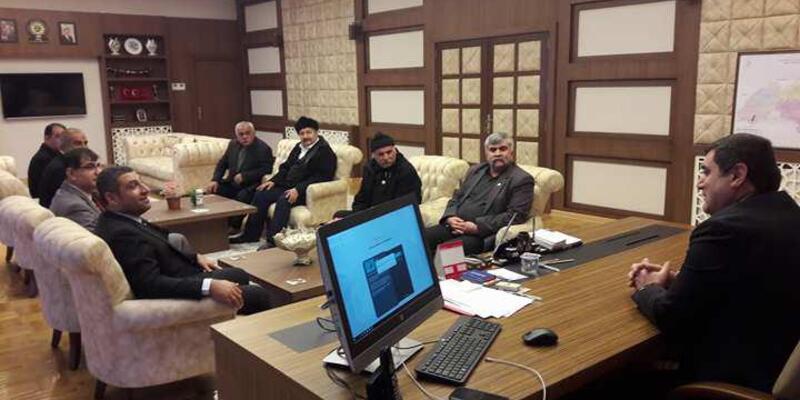 MHP'den Kaymakam Şahin'e ziyaret