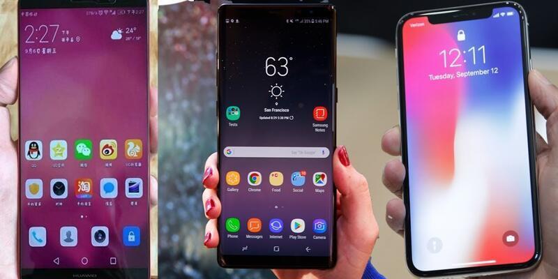 Huawei, Apple ve Samsung'u tahttan indirecek