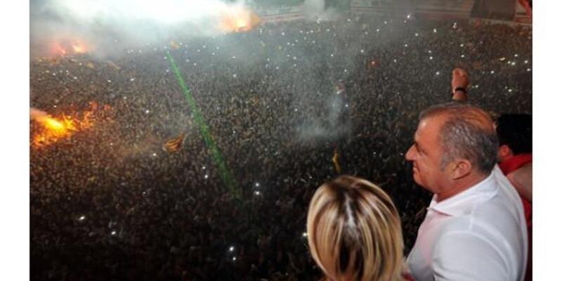 Galatasaray Fatih Terim'i böyle duyurdu