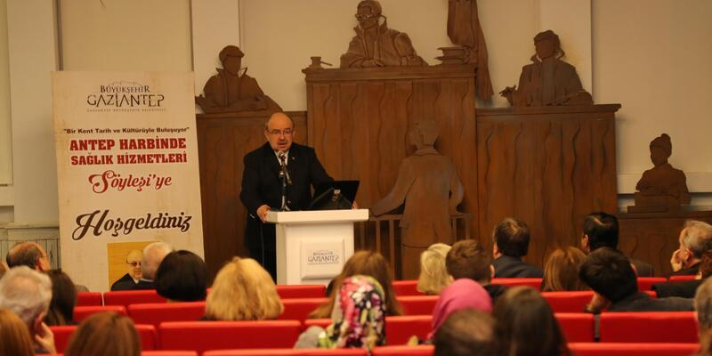 Antep Harbi'nde sağlık hizmetleri anlatıldı
