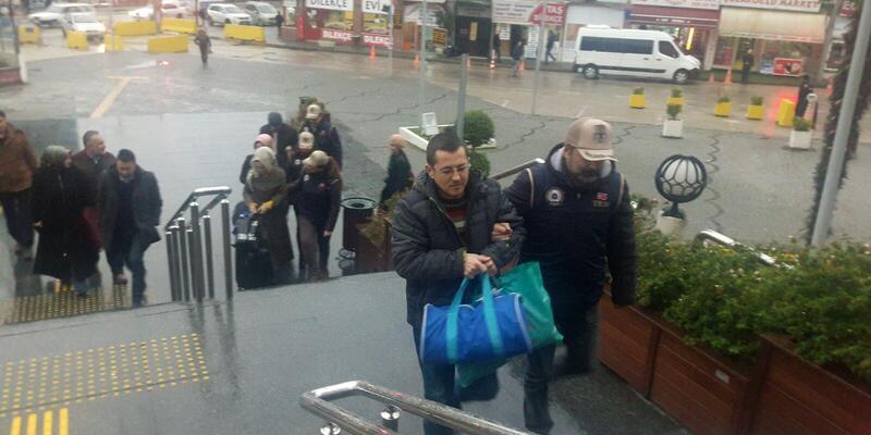Bursa'da 'ByLock' operasyonu: 5 kişi adliyede