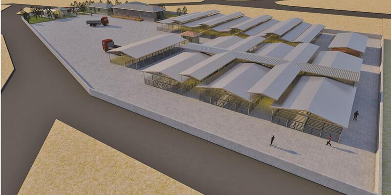 Bergama'ya yeni hayvan pazarı yapılıyor