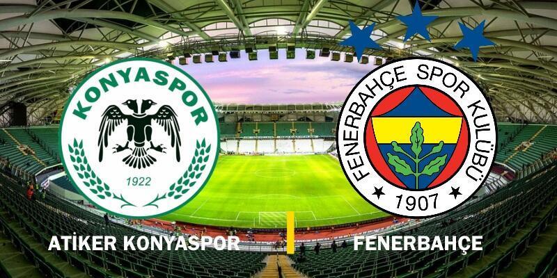 Canlı yayın: Konyaspor-Fenerbahçe maçı izle   17. hafta