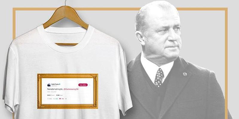 """Galatasaray'dan """"Nerede kalmıştık.."""" tişörtü ve atkısı"""
