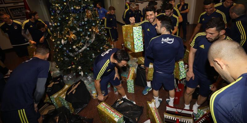 Fenerbahçe'de yeni yıl coşkusu