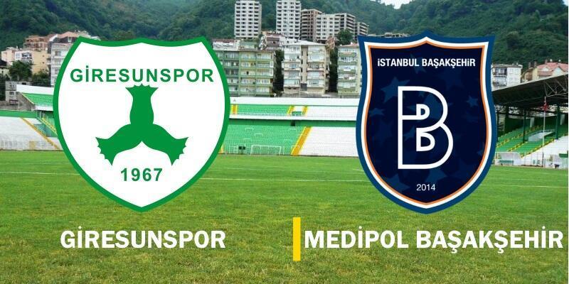Giresunspor-Başakşehir maçı izle   Türkiye Kupası canlı yayın
