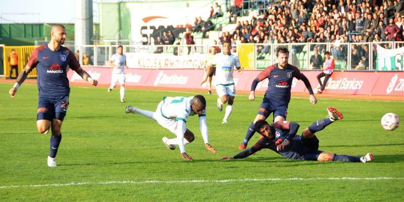 Giresunspor 3-1 Başakşehir / Maç Özeti