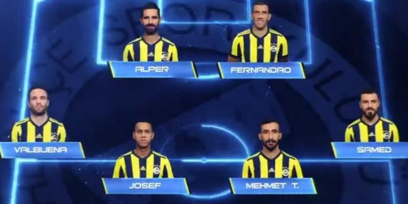 Fenerbahçe'nin İstanbulspor 11'i