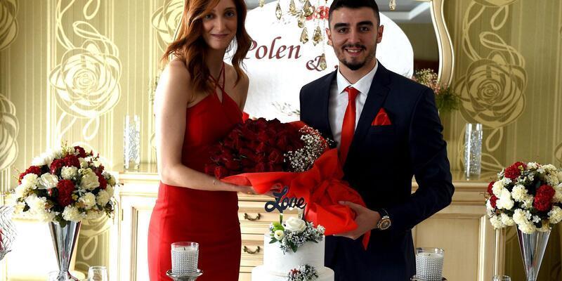Milli voleybolcular nişanlandı