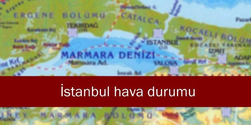 İstanbul hava durumu 29 Aralık: Meteoroloji son dakika hava durumu haberleri