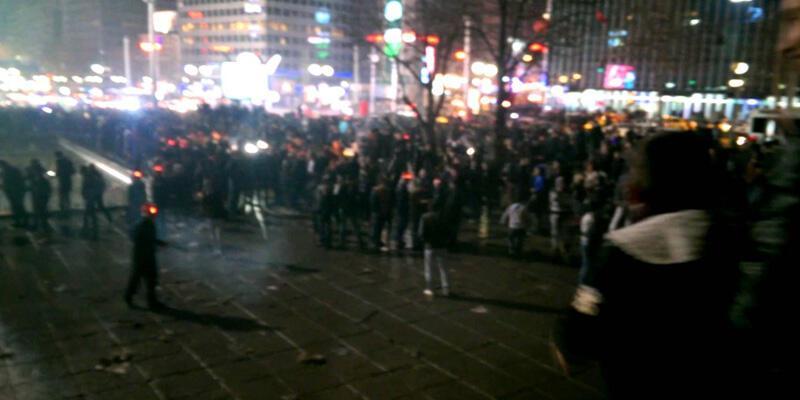 Ankara'da yılbaşı gecesi Kızılay trafiğe kapatılacak