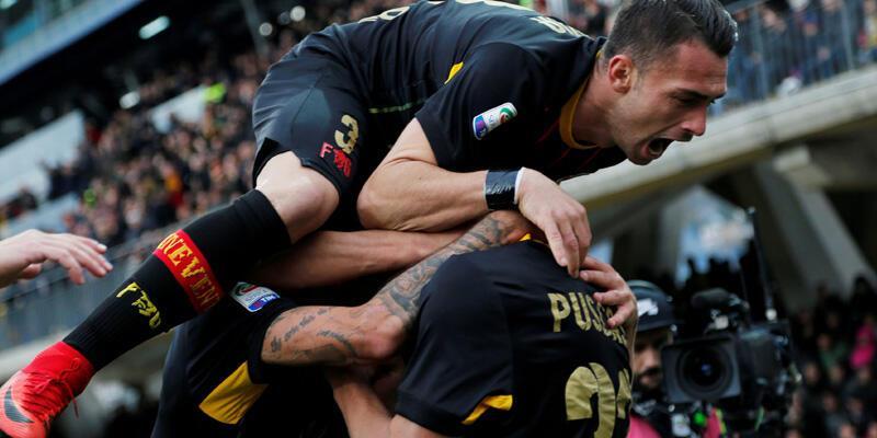 Benevento Serie A'daki ilk galibiyetini aldı