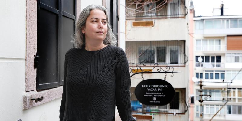Yazar evinde 2017'nin son konuğu Uluşahin oldu
