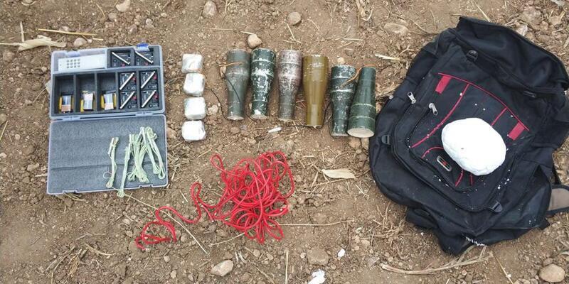 Mardin'de 52 kilo ağırlığında tuzaklanmış patlayıcı bulundu