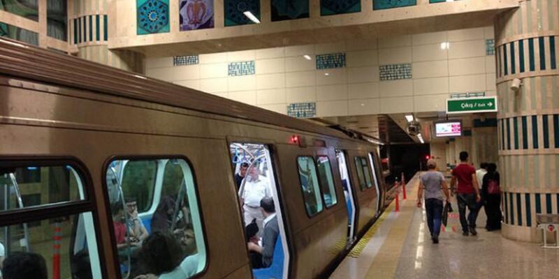 Metro seferleri durduruldu
