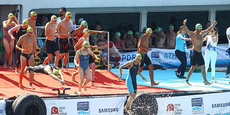 Samsung Boğaziçi Kıtalararası Yüzme Yarışı yabancı kotası 27 dakikada doldu