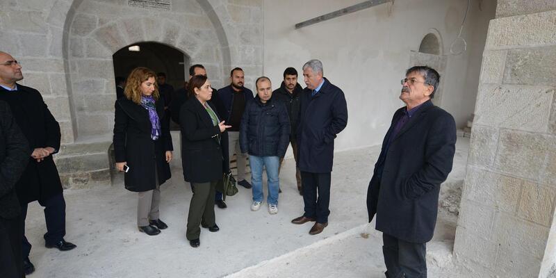 Kebir Camisi restore ediliyor