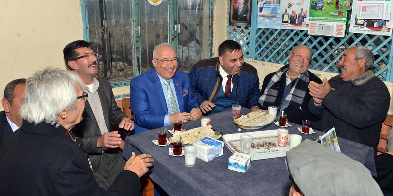 Başkan Kocamaz'dan bir günde 11 köy ziyareti