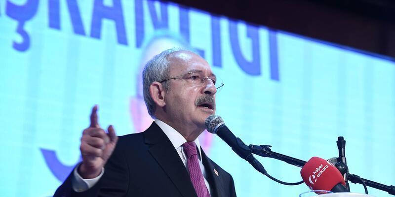 Kılıçdaroğlu: Hükümet belediye başkanlarımızı görevden alarak tartışma zeminini başka bir alana çekmek istiyor