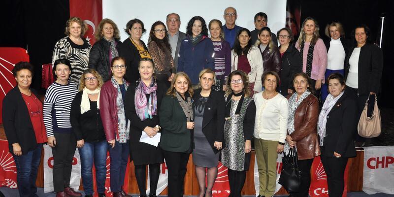 CHP Datça Kadın Kolları Başkanı Karaman güven tazeledi