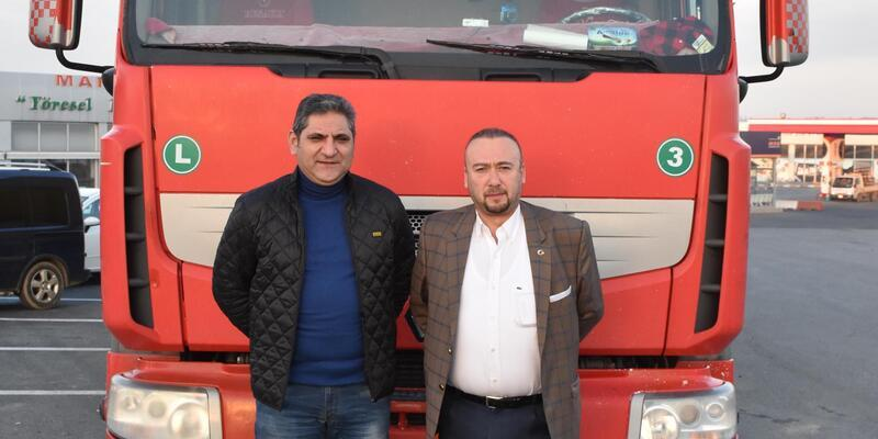 CHP'li vekiller TIR sürerek Ankara'ya gidiyor (1)