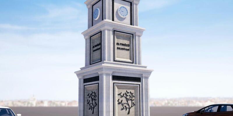 Altınözü'ne Saat Kulesi yapılıyor