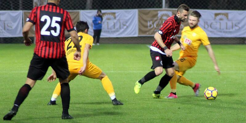 Gençlerbirliği Kamza'yı 4-1 yendi