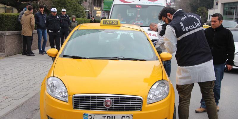 Beşiktaş'ta taksi sürücüsü ölü bulundu