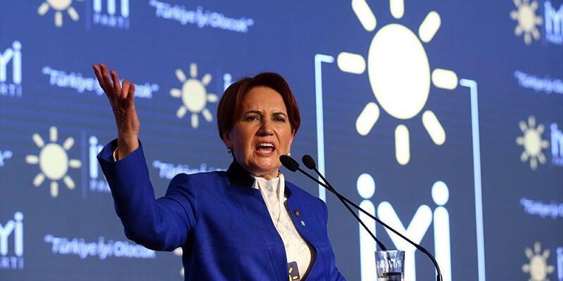 Son dakika... Akşener: Erdoğan, Boğaziçi'ne bağırmadı, Davutoğlu'na bağırdı