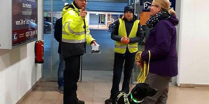 Marmaris'te sokak köpeğiydi, Almanya'da havalimanında güvenlik aramalarında kullanılıyor