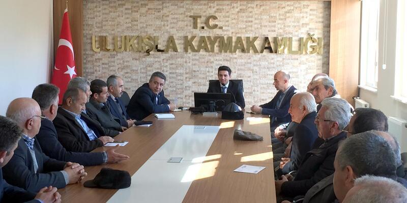 Ulukışla'da yılın ilk Muhtarlar toplantısı yapıldı