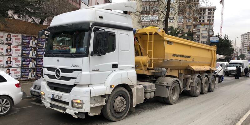 Kadıköy'de yine hafriyat kamyonu dehşeti