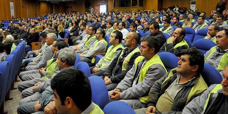 Kadroya alınacak taşeron işçilerden 'Samsunspor'a bağış yapın' talebi