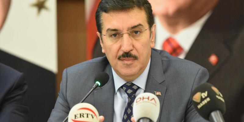 Bakan Tüfenkci, Malatya'da gazetecilerle buluştu