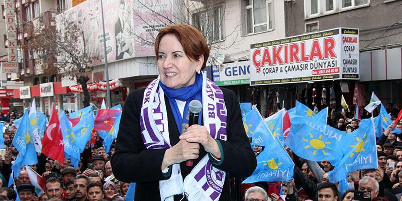 Meral Akşener'den 'FETÖ'cü' iddiasına yanıt: 'Politikayı bırakırım'